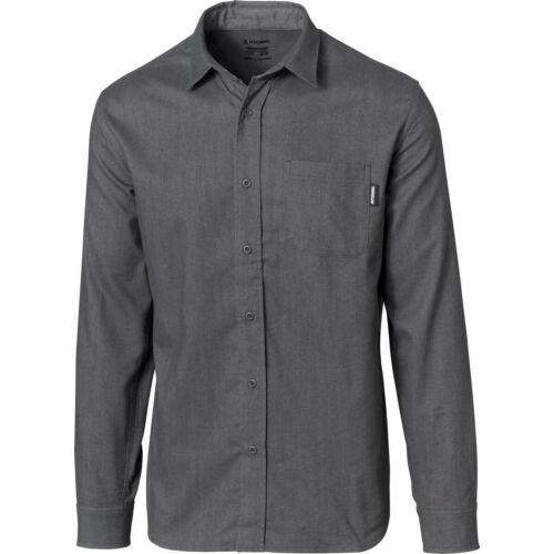 ATOMIC Flannel Shirt Dark Grey férfi ing 20/21