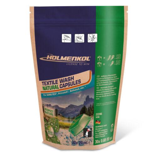 HOLMENKOL Textile Wash Natural Capsule 30x20 ml mosószer