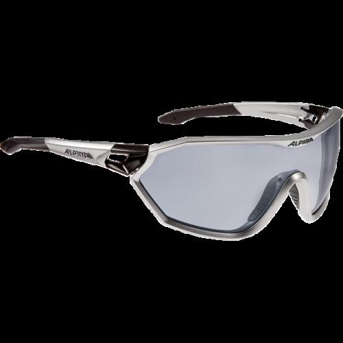 ALPINA S-Way QVM+ Silver/ Black napszemüveg