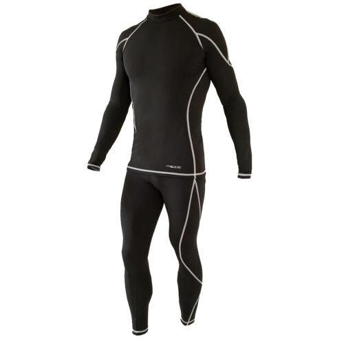 OZONE Nature Black/Wht. férfi aláöltöző szett