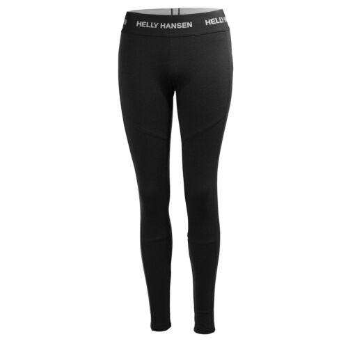 HH W Lifa Merino Pant Black női aláöltöző nadrág