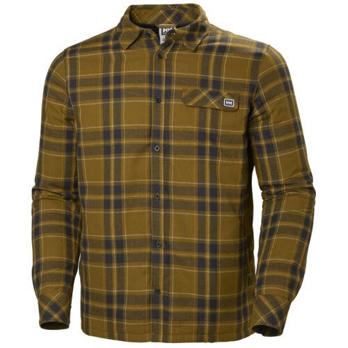 HH Lifaloft Insulated Flannel Shirt Marmalade férfi ing