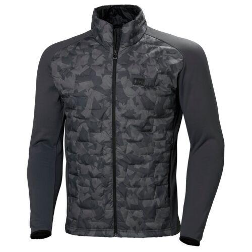 HH Lifaloft Hybrid Insulator Charcoal Camo férfi dzseki