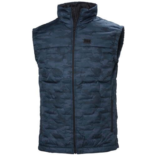 HH Lifaloft Insulator Vest Gr. Blue Camo férfi mellény