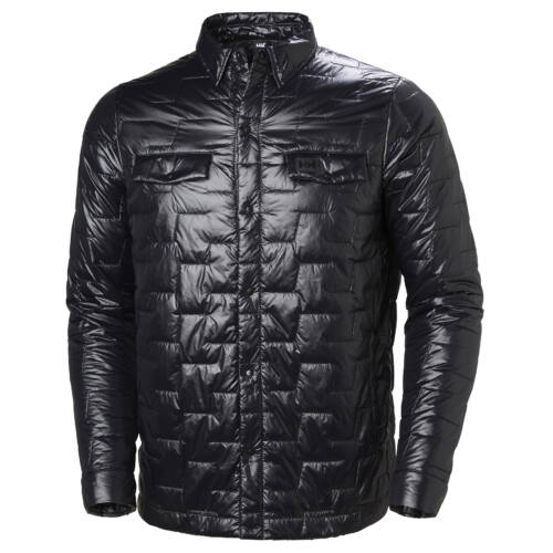 HH Lifaloft Insulator Shirt Black férfi dzseki