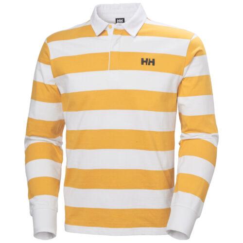 HH Salt Rugger Saffron férfi póló