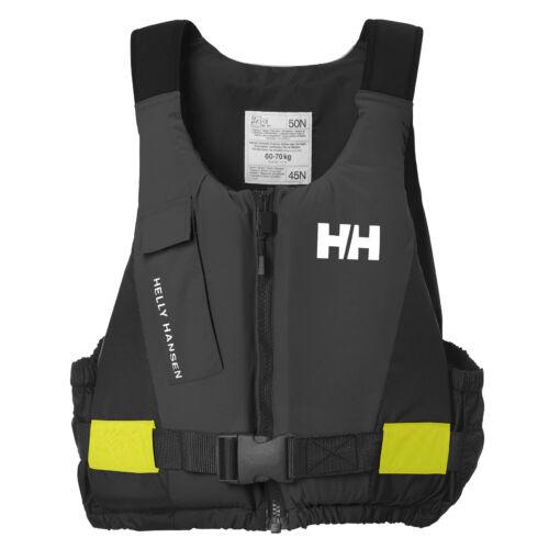 HH Rider Vest Ebony mentőmellény