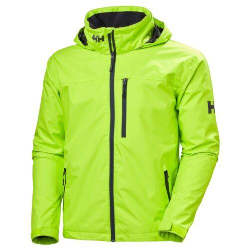 HH Crew Hooded Jacket Azid Lime vitorlás kabát