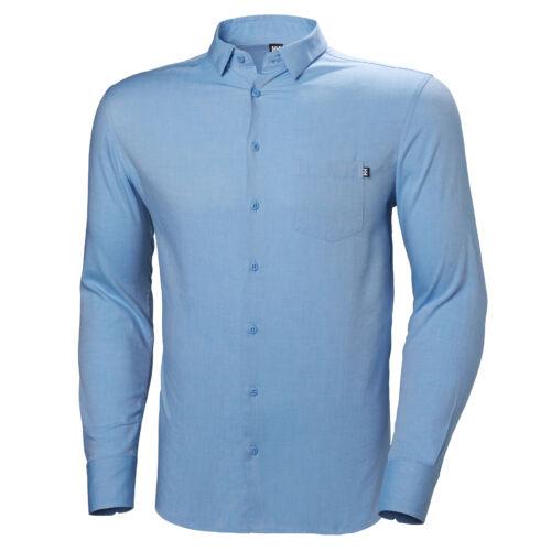 HH Crew Club LS Shirt Cornflower férfi ing