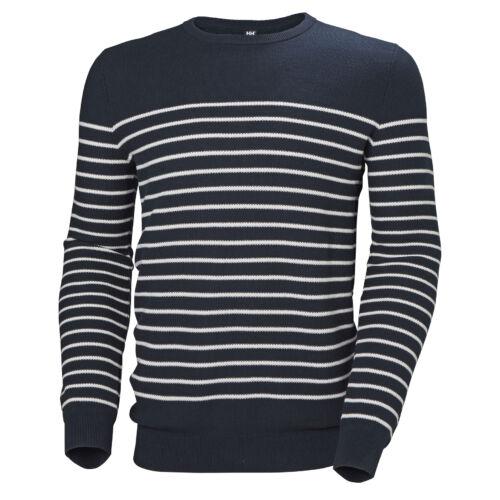 HH Skagen Sweater Navy férfi pulóver