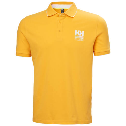 HH Faerder Polo Saffron férfi póló