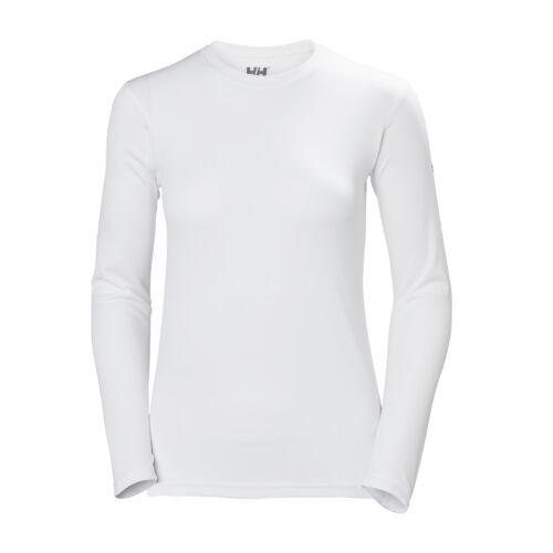 HH W Tech Crew LS White női póló