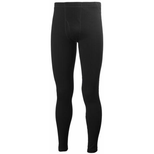 HH Warm Pant Black férfi aláöltöző nadrág