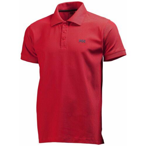 HH Driftline Polo Red férfi póló
