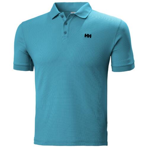 HH Driftline Polo Teal férfi póló