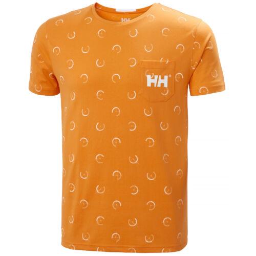 HH Fjord  T-Shirt Papaya férfi póló