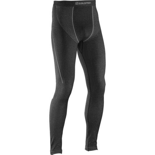 SALOMON Primo Warm Tight Black aláöltöző nadrág