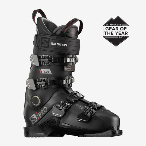 SALOMON S/Pro 120 Black/Beluga/Red sícipő 19/20