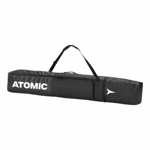 ATOMIC Double Ski Bag Black/ White 2 páras sízsák 20/21