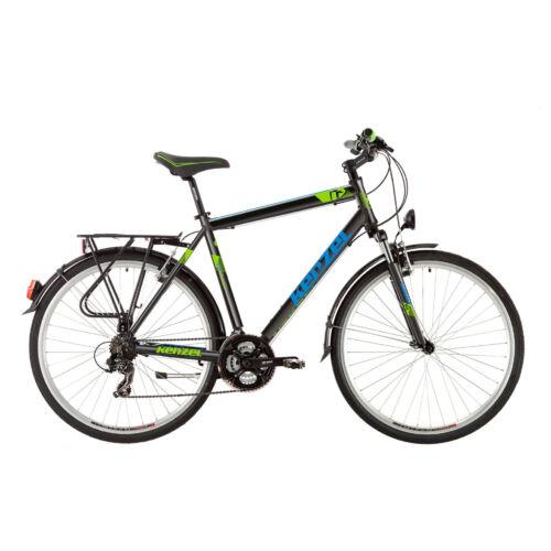 KENZEL Stroller Matt Black férfi kerékpár