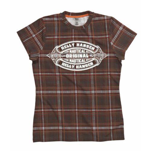 HH W Graphic SS Tee Walnut női póló