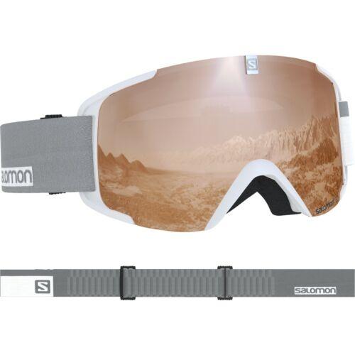 SALOMON X View Access White/ Uni T. Orange síszemüveg 18/19