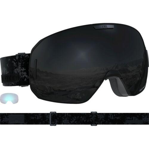 SALOMON S/Max Black/ Solar Black+ 1Xtra Lens síszemüveg 18/19