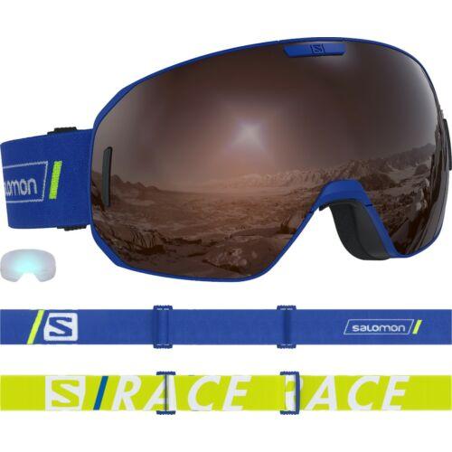 SALOMON S/Max Race Blue/ Solar Silver+ 1Xtra Lens síszemüveg 18/19